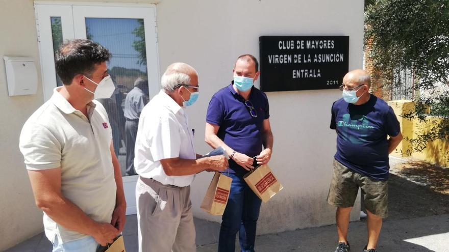 La Diputación distribuye geles de hidroalcohol a los 530 clubes de jubilados de Zamora