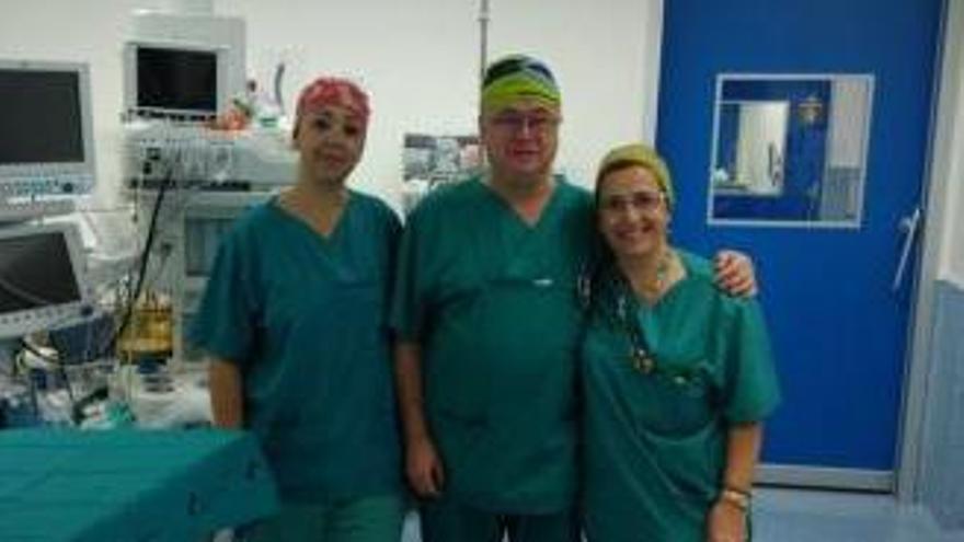 Tres enfermeros del hospital Santa Lucia premiados por su trabajo en Senegal
