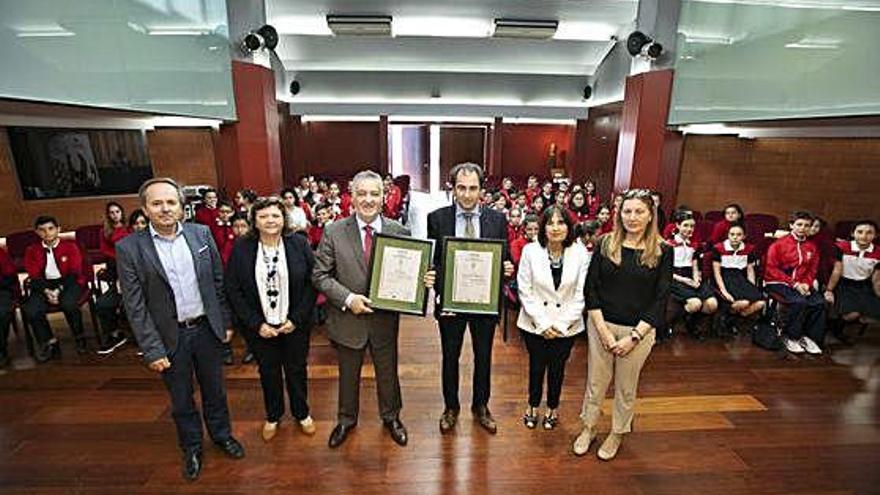 El Colegio Arenas renueva su certificado medioambiental