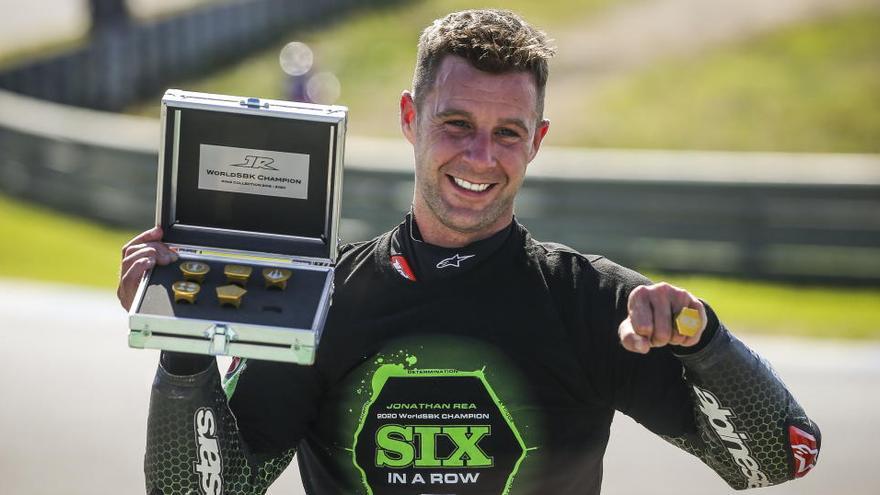 Jonathan Rea, campeón del mundo de Superbikes por sexta vez consecutiva