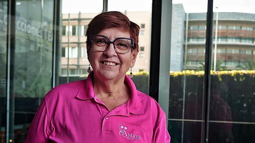 Cheti: «Les anima mucho oír que ya llevo 23 años desde mi diagnóstico»