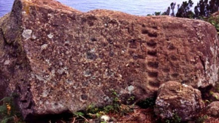 Patrimonio Histórico descarta daños  en la Piedra de los Escalones de Anaga