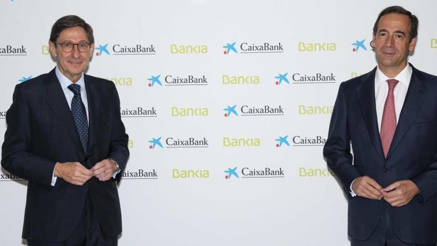 CaixaBank y Bankia celebrarán el viernes sus consejos