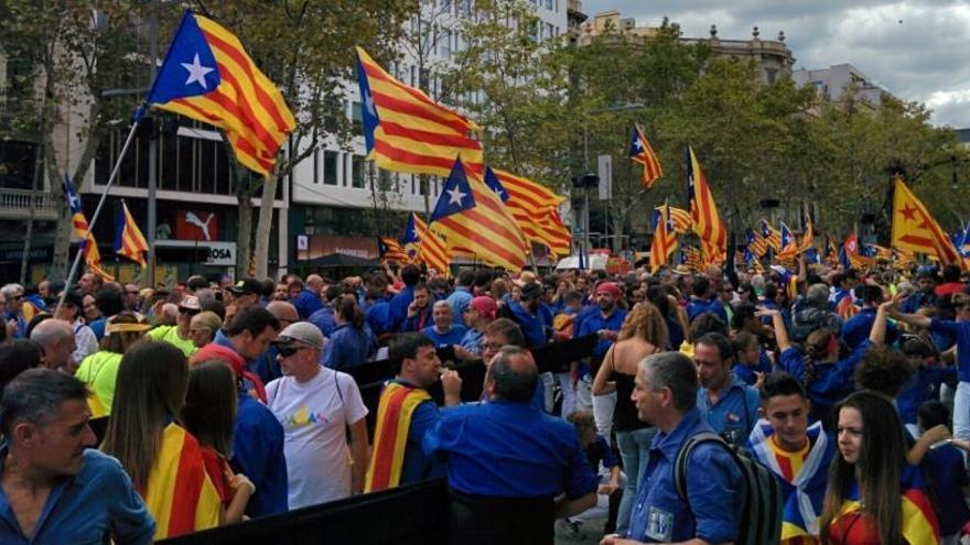 La Diada de Cataluña mide las fuerzas del independentismo