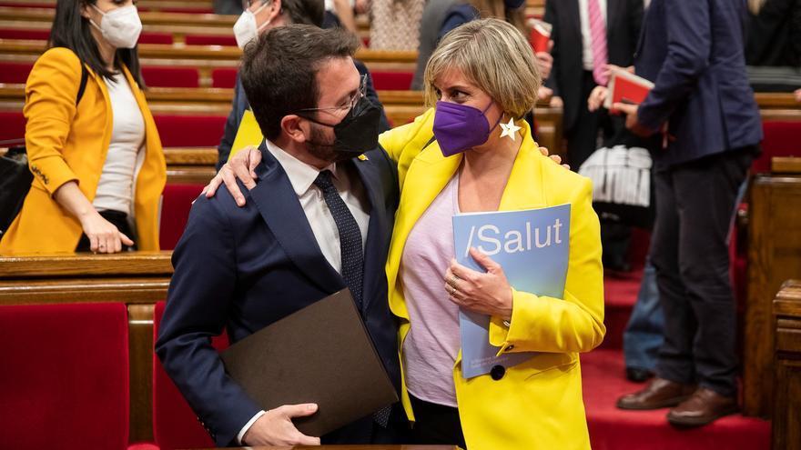 Alba Vergès, vicepresidenta de la Mesa del Parlament en substitució d'Anna Caula