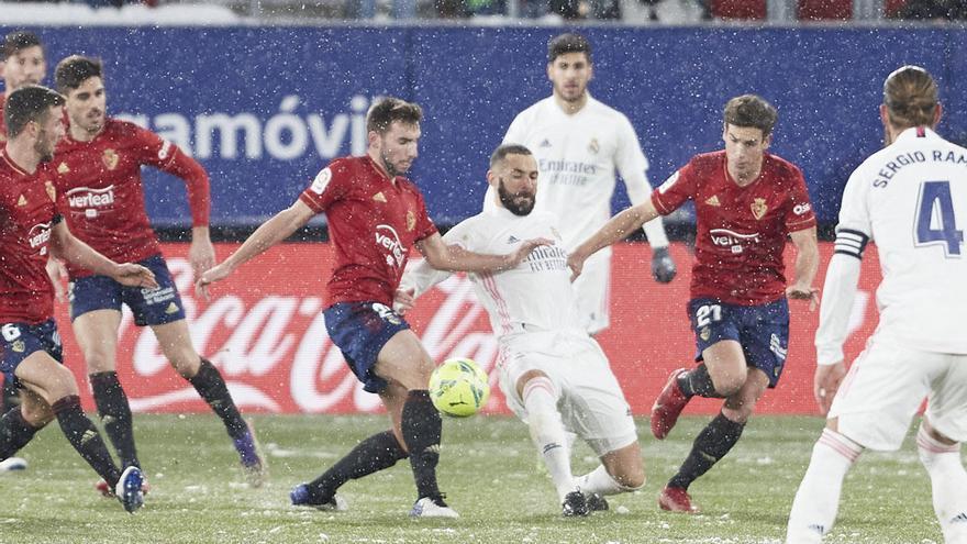 Miniconcentración del Real Madrid en Málaga