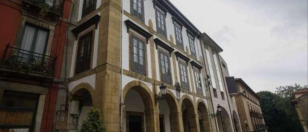 """El edificio """"Atenea"""", en la calle Ferrería."""