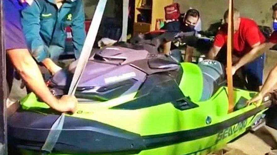 El ladrón de motos de agua