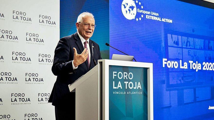 """Borrell pide """"unidad"""" a Europa para hacer frente a la rivalidad entre EE UU y China"""
