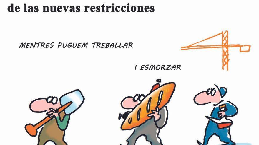 """Botellones, Halloween y """"tardeo"""", objetivos de las nuevas restricciones"""