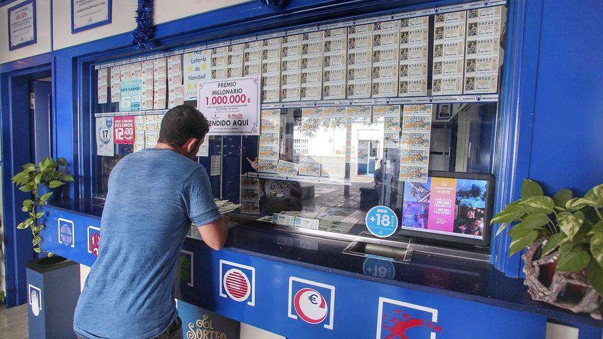 La Lotería Nacional cae en el Porís de Abona y Tazacorte