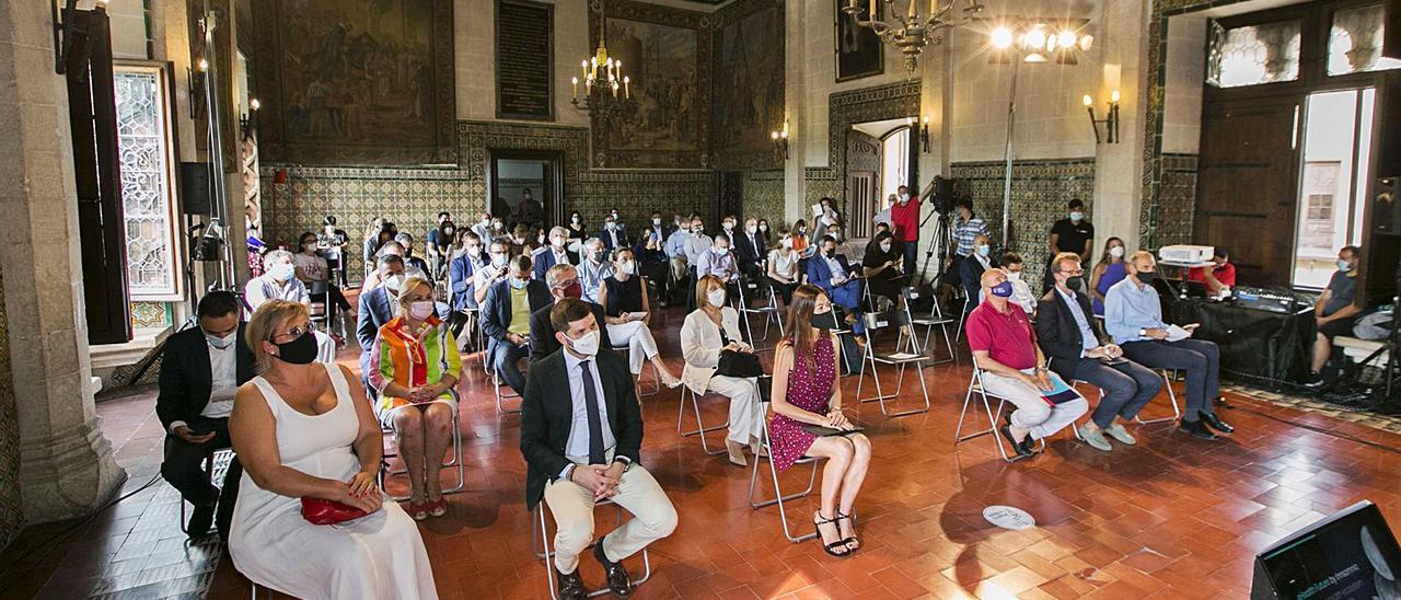 La sanidad del futuro se debate en el Palau Ducal de Gandia | ÀLEX OLTRA