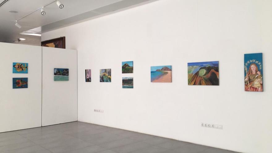 Exposición de la Escuela de Pintura de la SMVI
