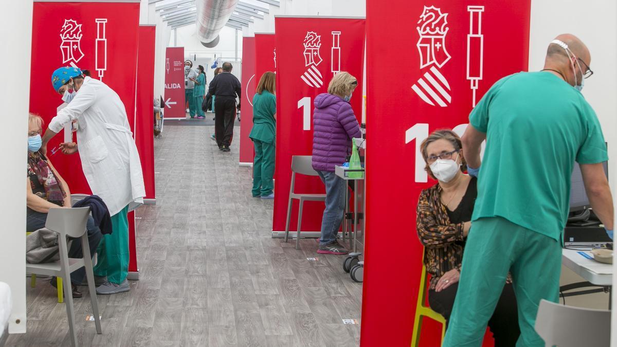 Vacunación en Alicante: ¿Qué franja de edad se vacunará esta semana?
