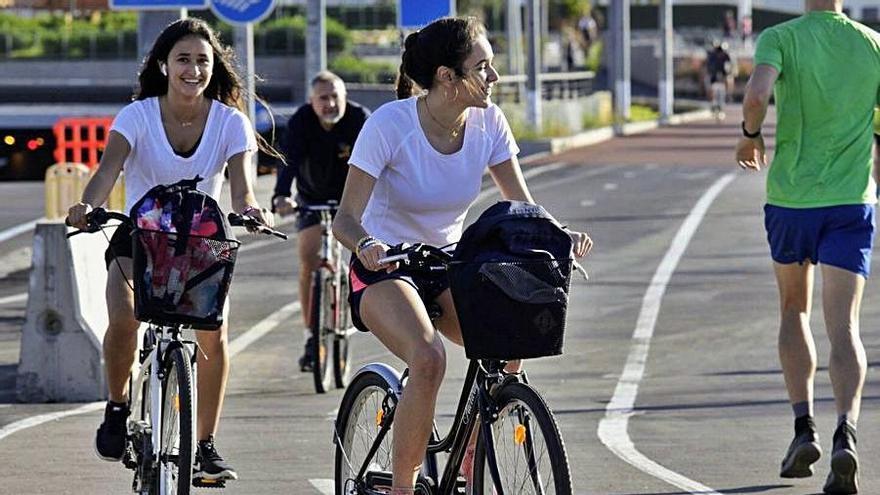 El carril-bici a San Andrés está pendiente de los informes de Puertos