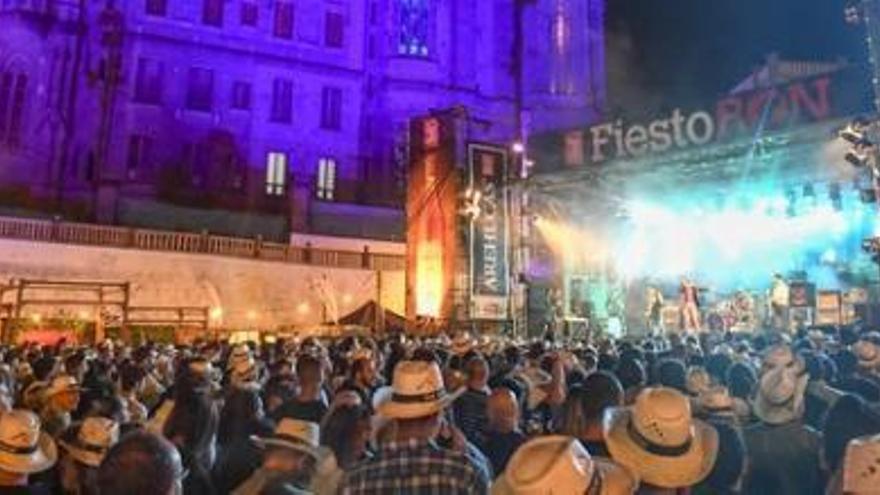 Diez mil personas disfrutaron del cierre del FiestoRon 2018