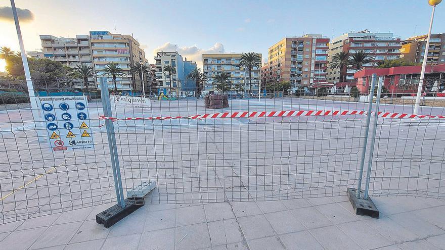 La reforma de la plaza de la Concordia se desbloquea cuatro años después