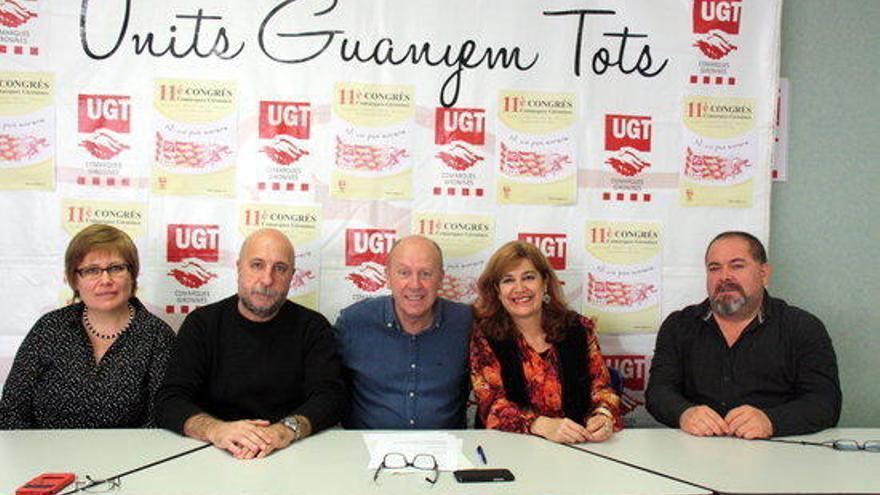 Mobilitzar els treballadors i recuperar els afiliats de la UGT a Girona, objectius de Xavier Casas