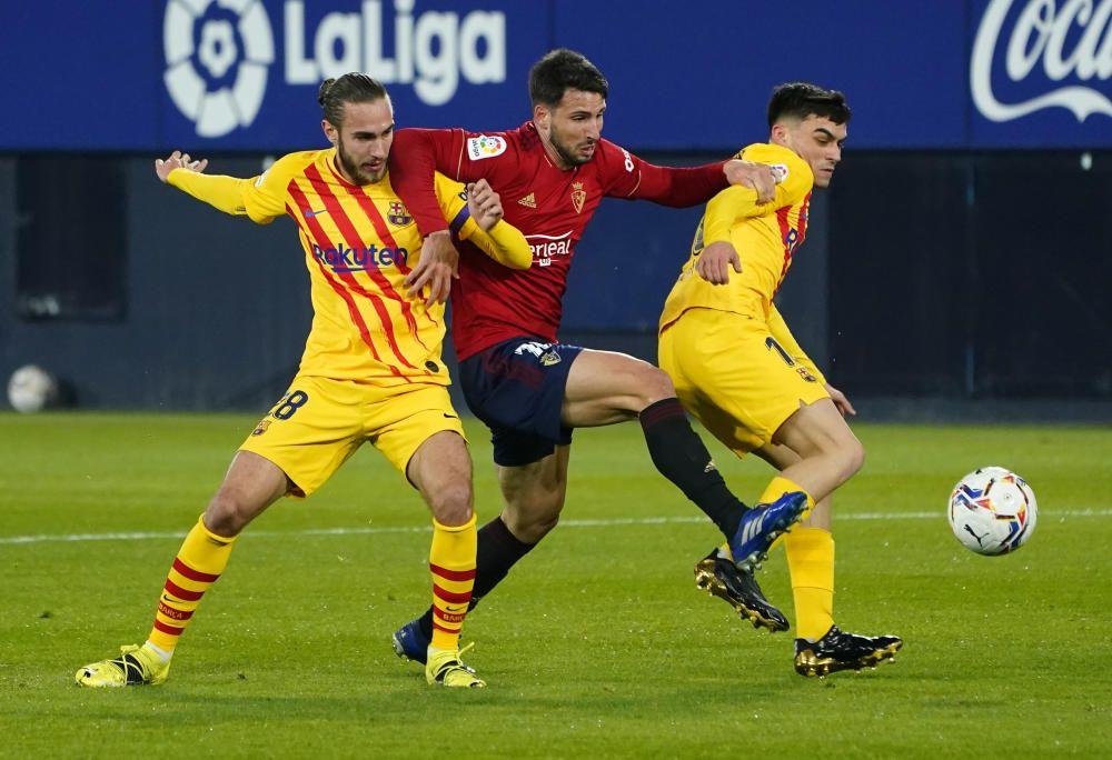 LaLiga Santader: Osasuna - Barcelona.