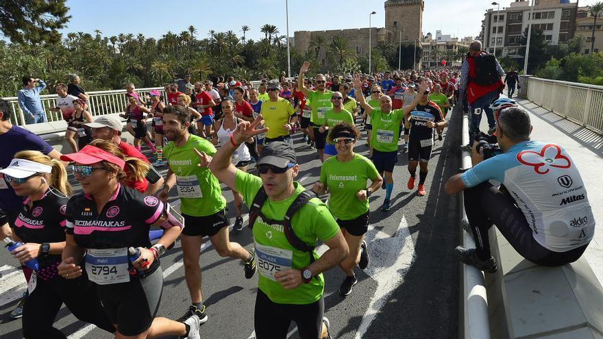El Medio Maratón de Elche, aplazado