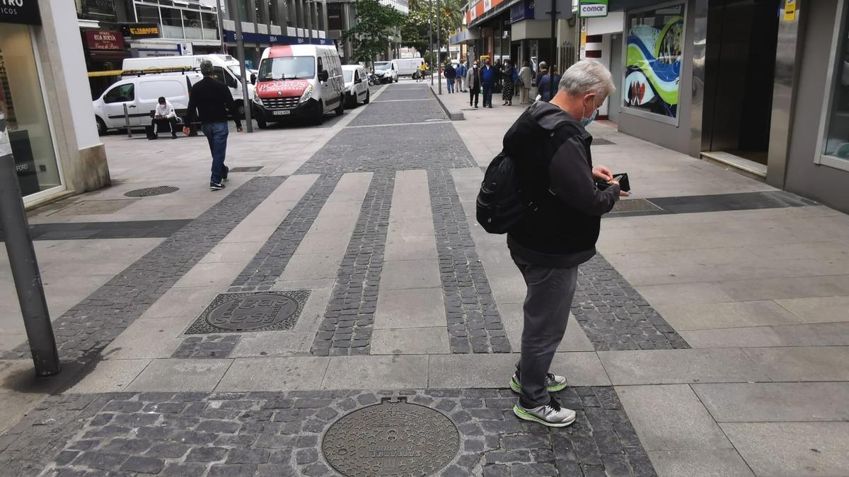 Rúa Nova, en el cruce con las calles Olmos y Estrella.