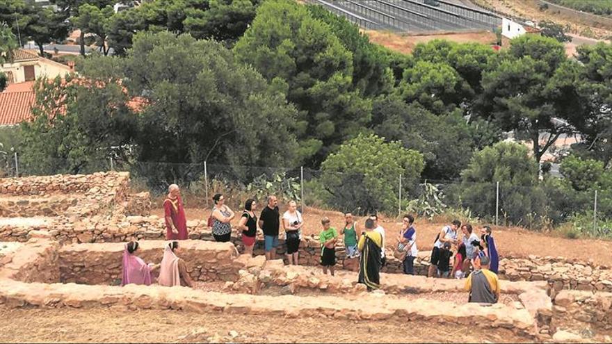 La Vall solicita el 1,5% cultural para excavar y potenciar el poblado íbero