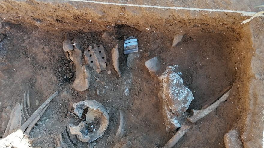Buscan en Belchite los restos de 350 fusilados de la guerra civil