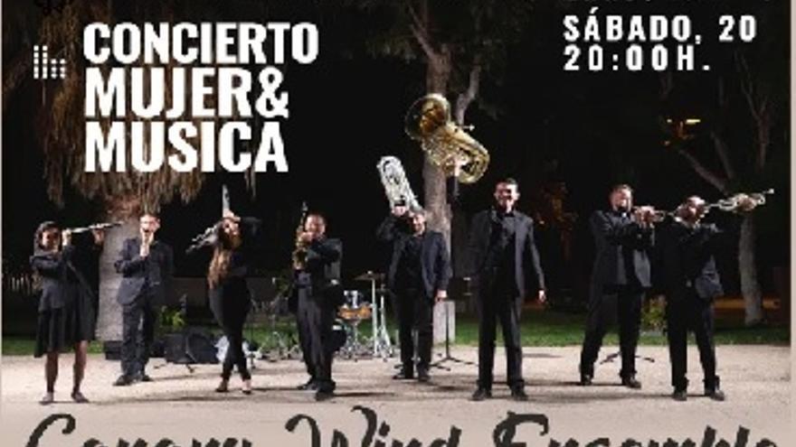 Concierto Mujer y Música a cargo de Canary Wind Ensemble