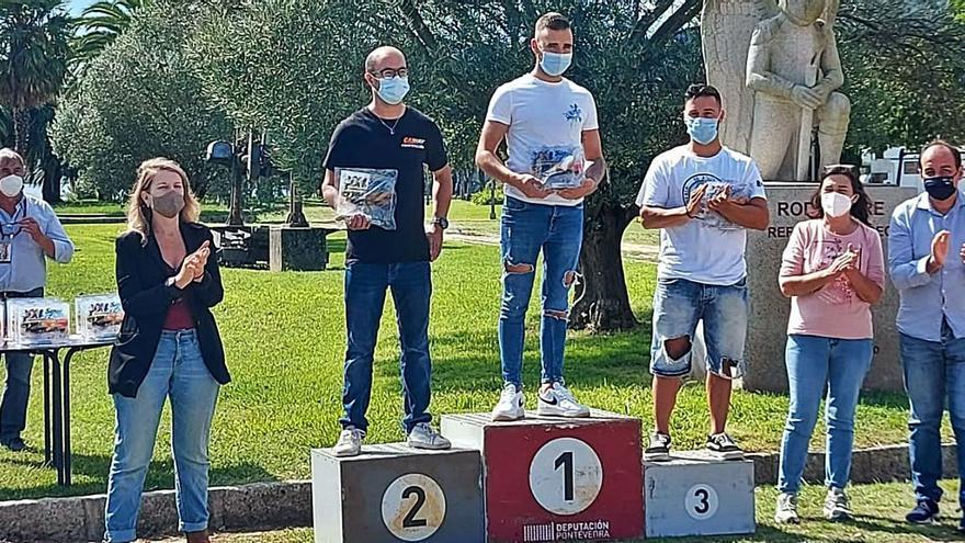 Alexis Viéitez, rey y campeón de la XXI Subida á Escusa