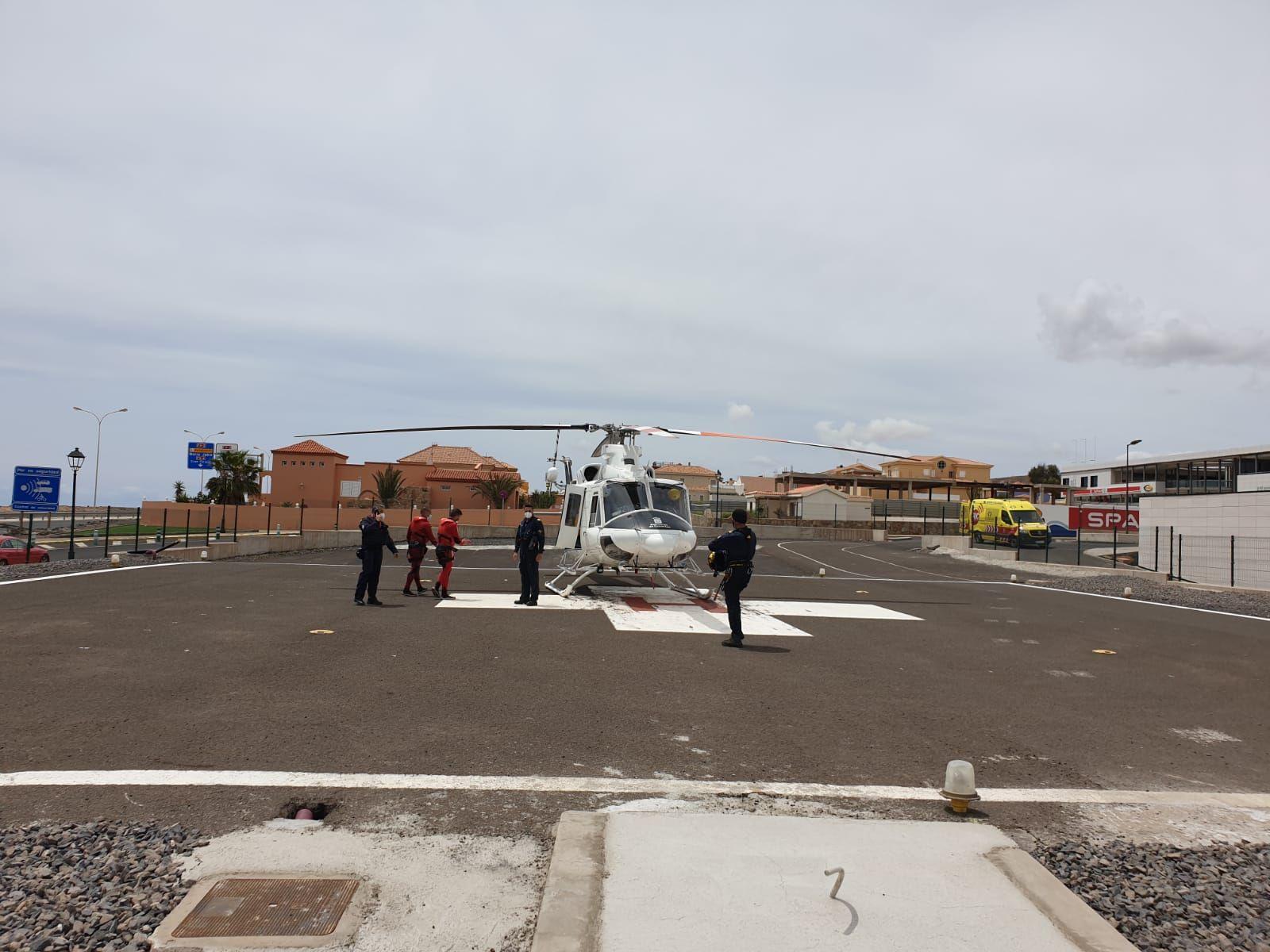 Mueren dos pescadores en Betancuria (01/05/21)