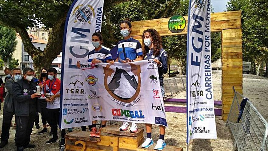 El GTR, bronce en el Gallego por equipos femenino