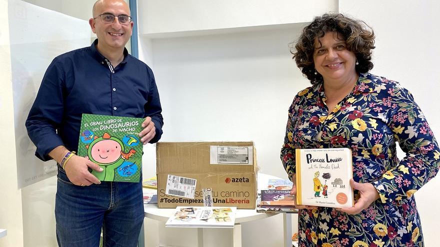 La Biblioteca Pública de Alhaurín de la Torre se une a la ola de solidaridad con la Librería Proteo