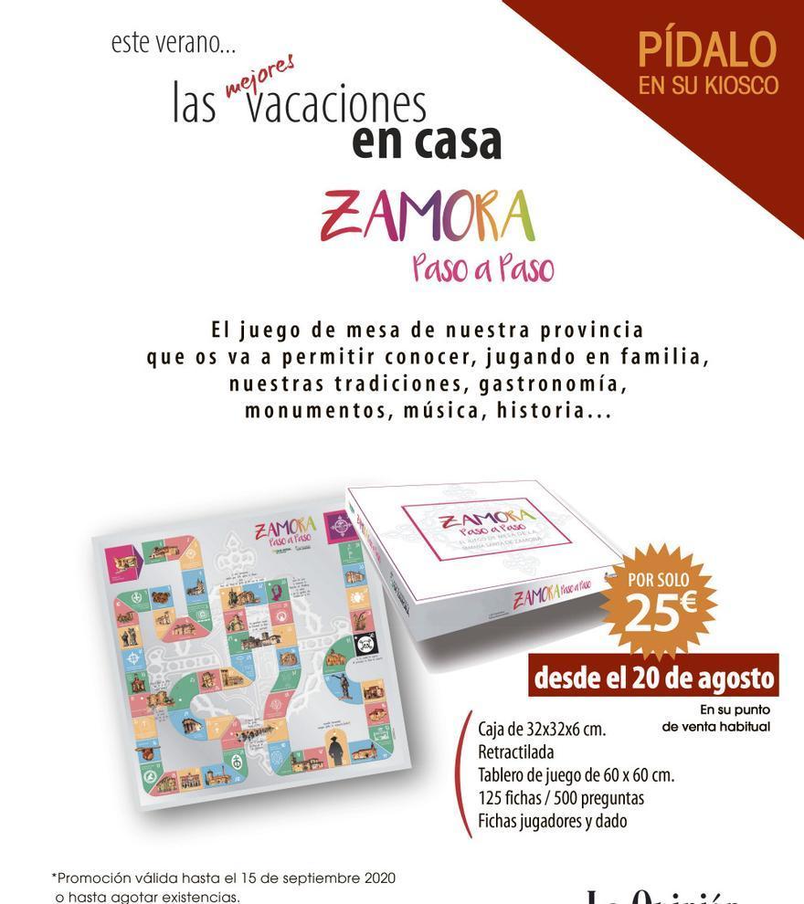 Promoción Zamora paso a paso