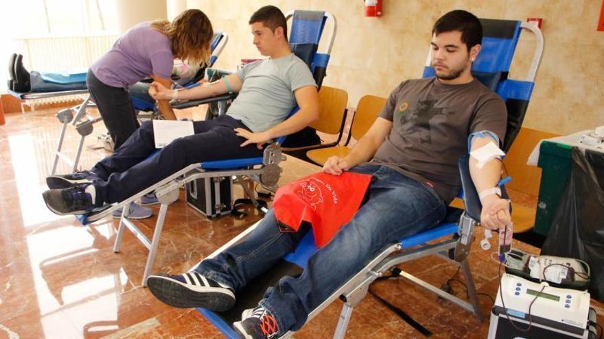 La juventud del Campus y los ciclos formativos, el sector más activo en la donación de sangre en Zamora