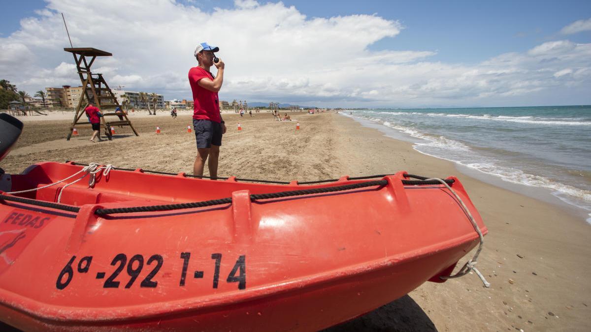 Nuevo susto en la playa de Canet