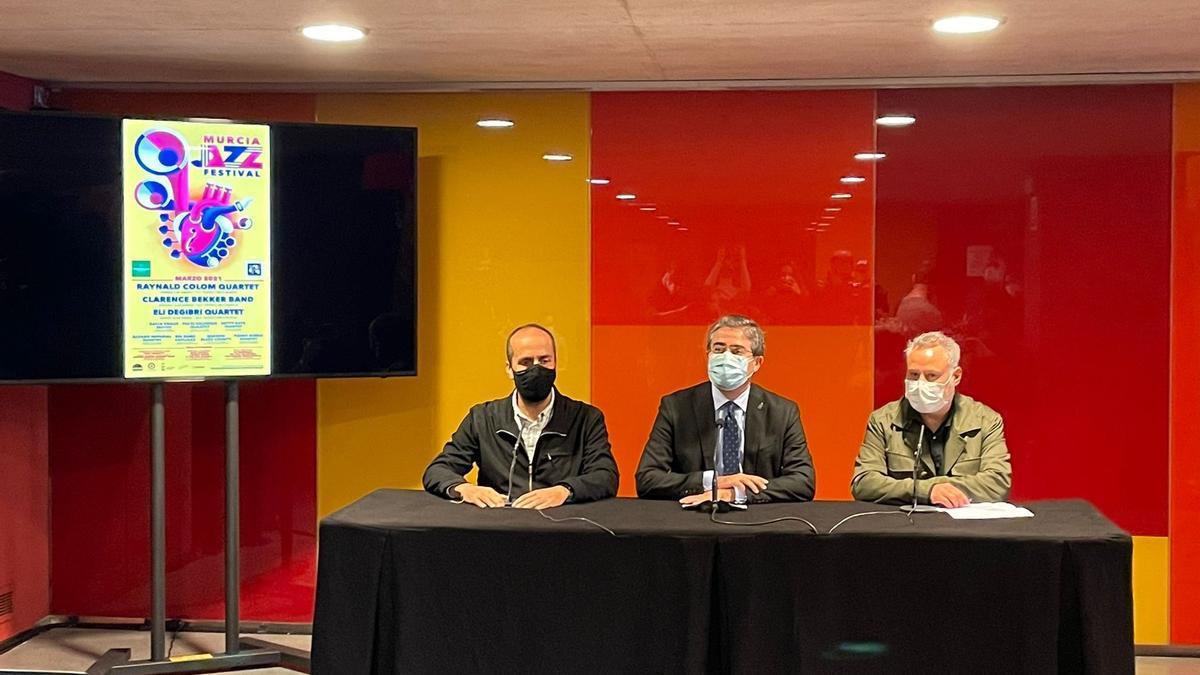 MURCIA.-Grandes figuras como Raynald Colom, Clarence Bekker y Eli Degibri actuarán en el Murcia Jazz Festival