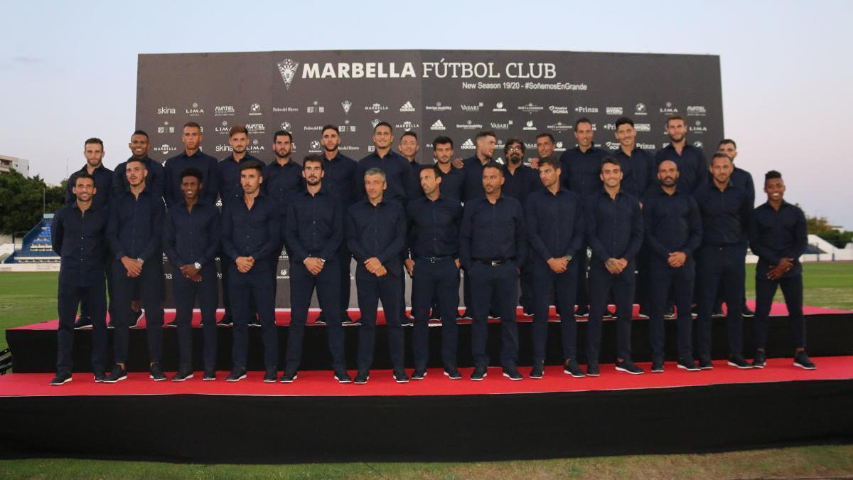 El Marbella ha convertido su Municipal en un fortín.