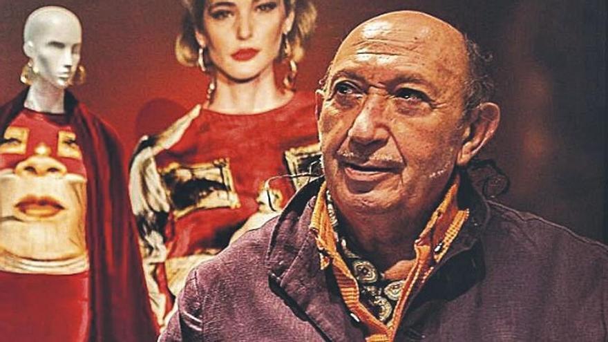 El diseñador Francis Montesinos, medio siglo a contracorriente