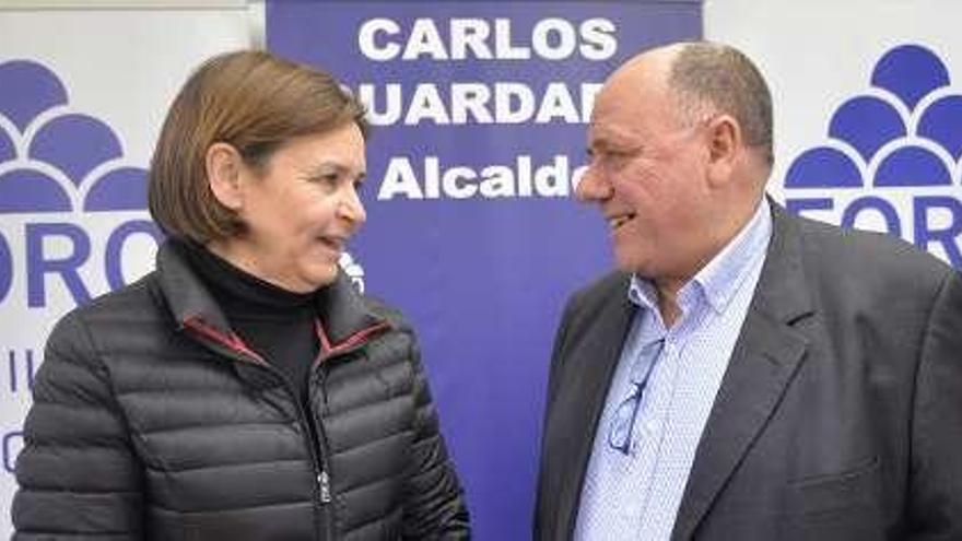 """Guardado, presidente de Foro: """"Nuestra candidatura es plural y estará en la calle"""""""