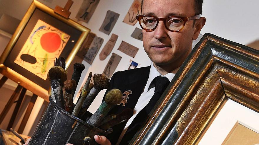 """""""En la obra de Picasso y Dalí encuentras un lugar donde reposar tu ojo, con Miró es imposible"""""""