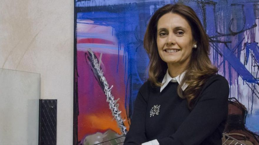 La pregonera oficial de la Semana Santa de Zamora 2019, Eva Crespo García.