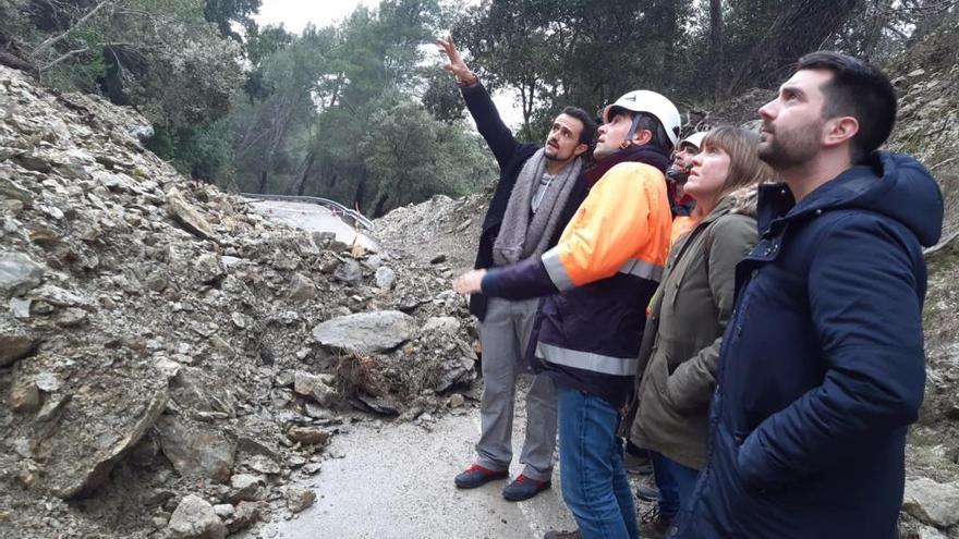 Las obras de la carretera de Alaró a Orient empiezan este martes