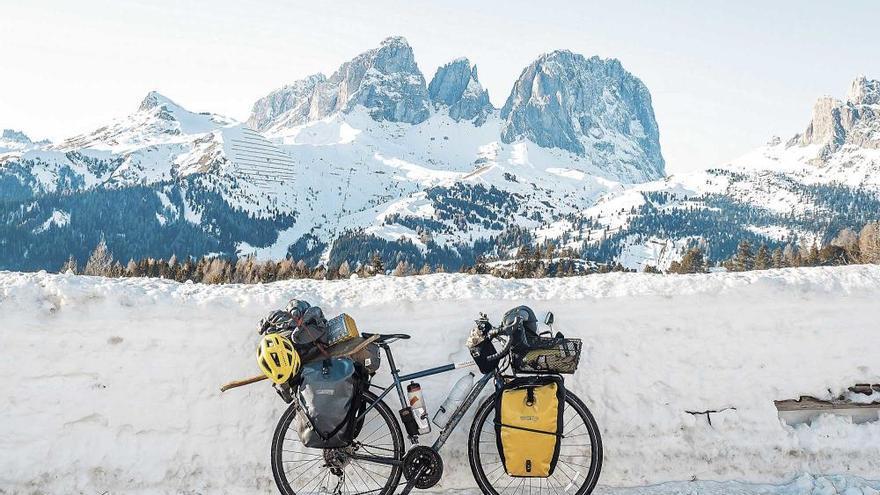 La vuelta al mundo en bicicleta del palmesano Miquel Sorell