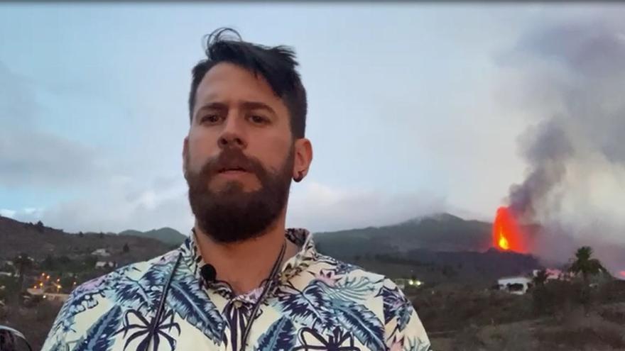 La llegada al mar del magma del volcán de La Palma se hace de rogar