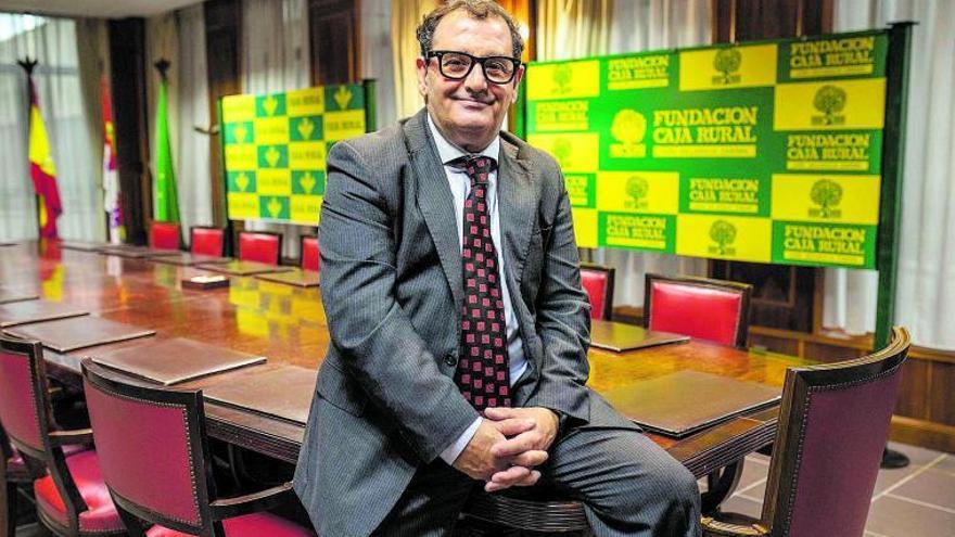 El director de Comunicación de Caja Rural de Zamora, Narciso Prieto. | Emilio Fraile