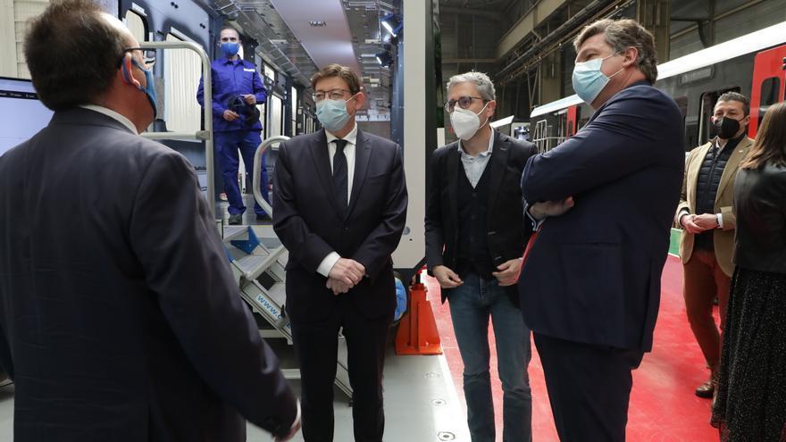 Puig anuncia un convenio con Stadler para desarrollar un tren de hidrógeno para el TRAM de Alicante