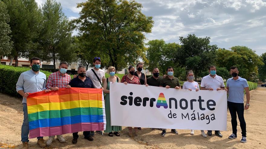 La Sierra Norte de Málaga se une para conmemorar el Día del Orgullo Gay hasta el 3 de julio