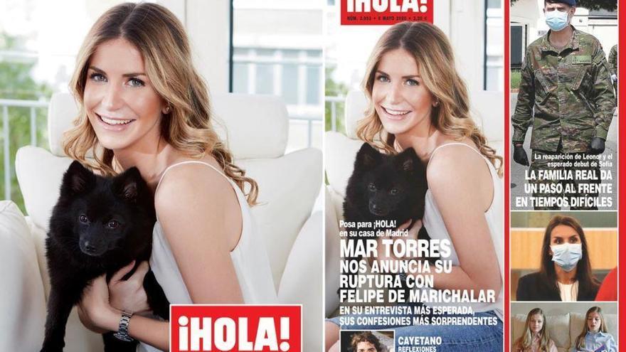 La murciana Mar Torres anuncia su ruptura con Froilán