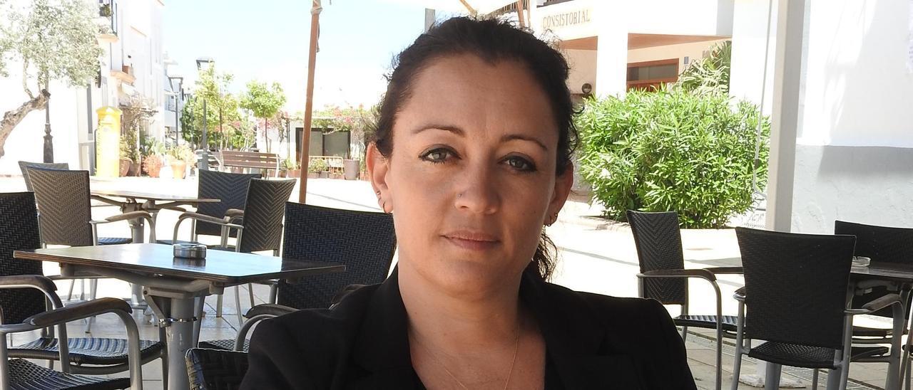 Alejandra Ferrer, presidenta del Consell de Formentera. Carmelo Convalia