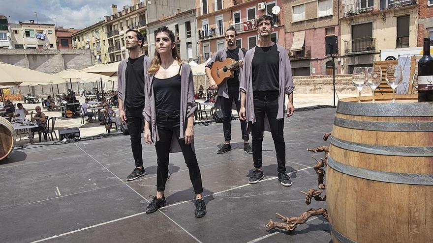 Música i art mariden a Manresa amb vins de  la DO del Pla de Bages